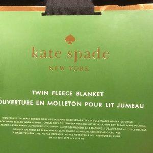 NWT Kate Spade blanket